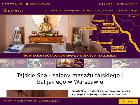 Salon Masażu - TajskieSpa.pl