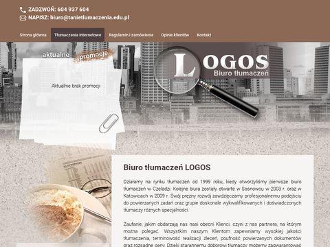 Biuro t艂umacze艅 Logos