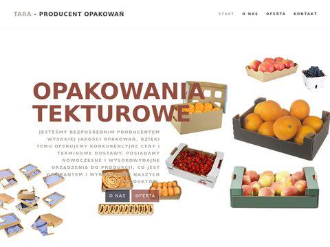 TARA - producent opakowań tekturowych