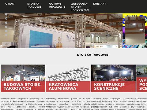Stoiska targowe Kraków - targowe.pl