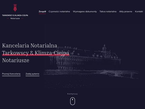 Tarkowski & Tarkowski Sp.p. poÅ›wiadczenie dziedziczenia