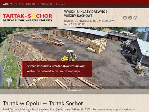 Tartaksochor.pl drewno budowlane opole