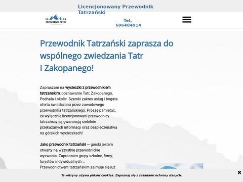Przewodnik tatrzański w Tatry