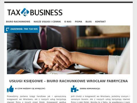 Biuro rachunkowe Wrocław - tax4business.pl
