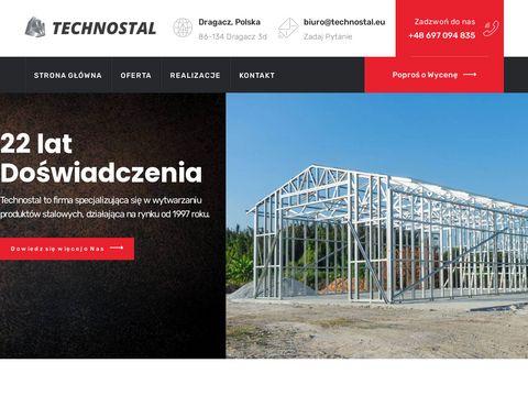 Technostal.eu – niezawodne konstrukcje stalowe