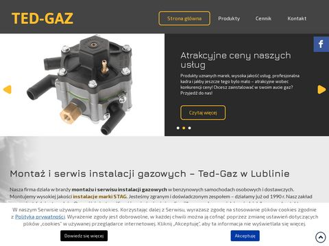 Instalacja gazowa - Tedgaz