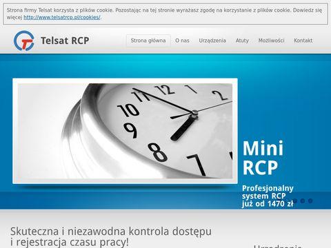 Rejestracja czasu pracy – firma Telsat RCP.
