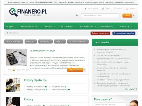 Terve.pl - Twoja osobista porównywarka kredytów