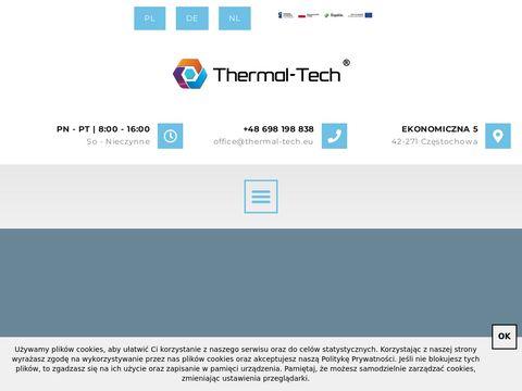 THERMAL-TECH prefabrykaty metalowych os艂on izolacji