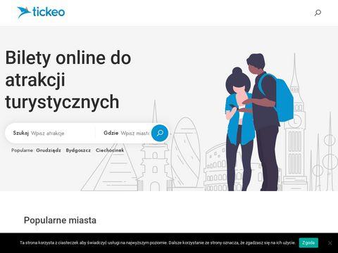 Tickeo.pl - Bilety on-line do atrakcji turystycznych