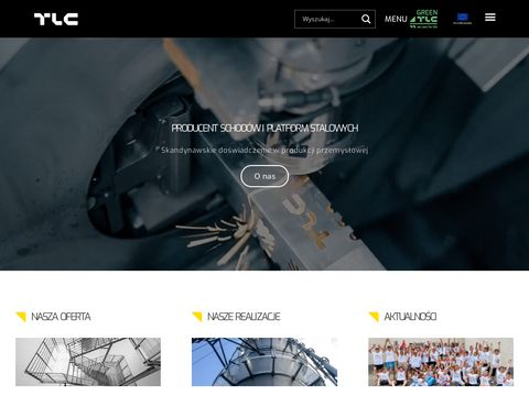 TLC - Architectural Metalwork - Schody metalowe, barierki, balustrady