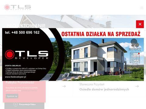 TLS Developer osiedle domów jednorodzinnych szczecin