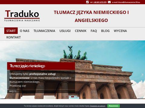 TÅ'umacz jÄ™zyka niemieckiego