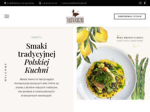 Restauracja TÅ'usta Kacza w Gdyni