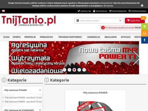 TnijTanio.pl - Gwarancja Najni偶szej Ceny!