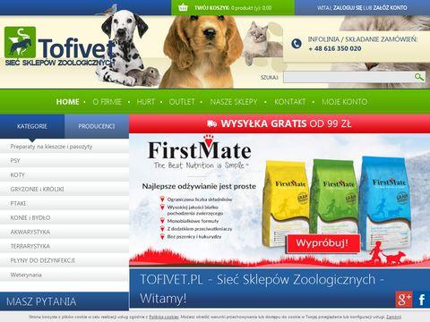 Hurtownia weterynaryjna - Tofivet.pl