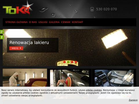 Renowacja lakieru - TOKA AutoSPA