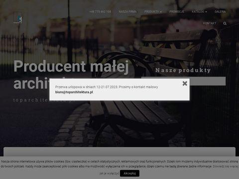 Toparchitektura.pl - producent małej architektury miejskiej