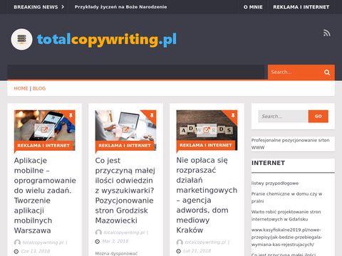 Blog o copywritingu, marketingu i reklamie