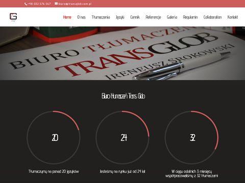 TRANS GLOB - Transglob | Biuro t艂umacze艅 Wroc艂aw