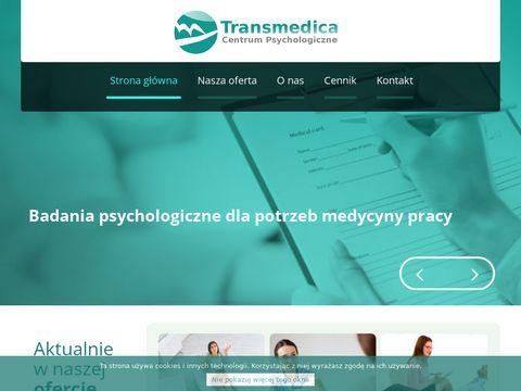 Badania psychologiczne kierowców - www.transmedica24.pl