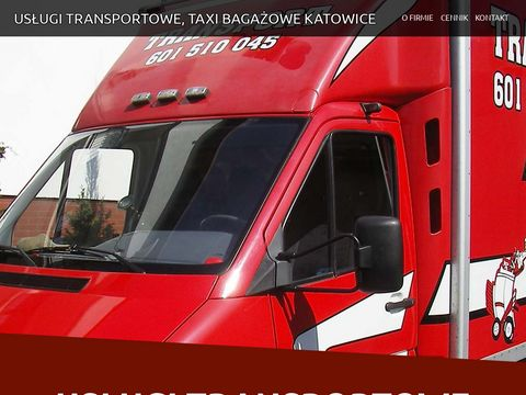Us艂ugi Transportowe Katowice - taxi baga偶owe, Transport Katowice