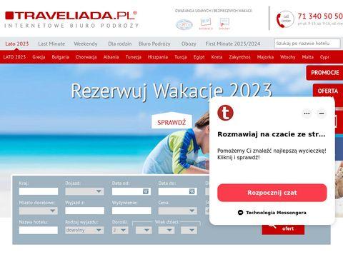 Traveliada.pl - Turystyczny Portal Internetowy