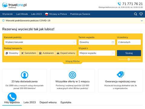 Rezerwuj w TravelOne.pl wakacje w dowolnym miejscu na Ziemi!