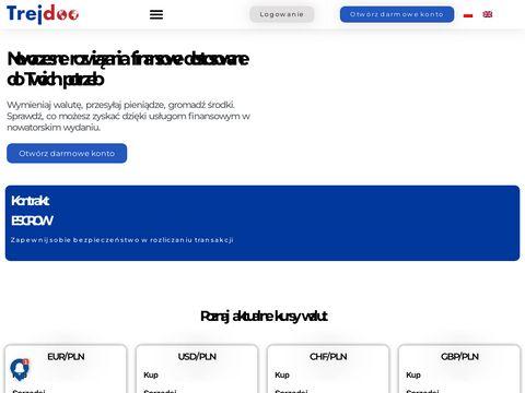 Kantor wymiany walut Trejdoo.com