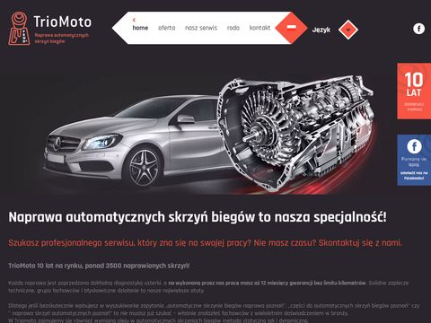 TrioMoto - automatyczna skrzynia bieg贸w naprawa Pozna艅