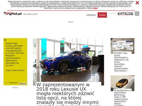 Trynid - baza samochodów nowych