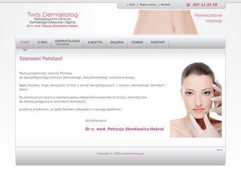 Twoj dermatolog - Gabinet Medycyny Estetycznej - p