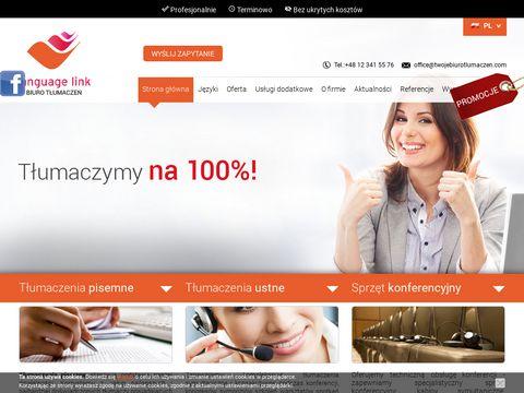 Twojebiurotlumaczen.com - Tw贸j t艂umacz przysi臋g艂y z Krakowa