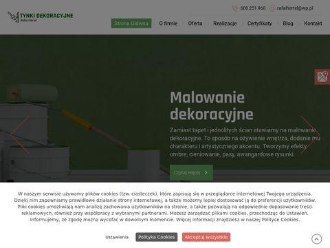 Tynkidekoracyjnerafalhertel.pl k艂adzenie ozdobnych