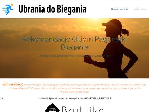 Internetowy sklep dla biegaczy - wszystko czego potrzebujesz