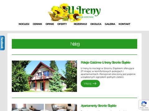 Noclegi Czarna Góra, Stronie Śląskie - www.uireny.pl
