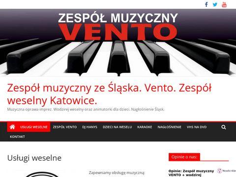 Zespół muzyczny ze Śląska.Zespół weselny Katowice.