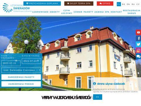 ŚWIERADÓW-CZERNIAWA sanatoria w polsce w górach