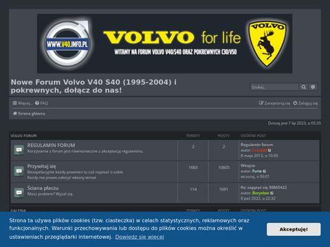 Forum Volvo V40 S40 i pokrewnych.