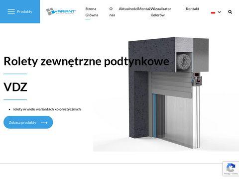 Www.variant-okna.pl