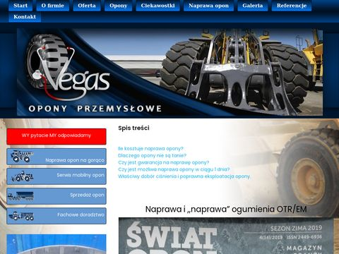Vegas Opony - serwis i naprawa opon