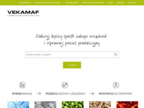 Vekamaf – Maszyny do Twojej firmy