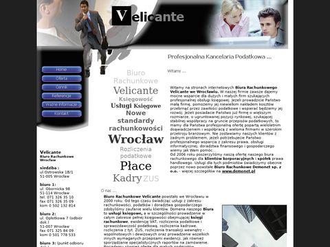 Velicante - Profesjonalne Biuro Rachunkowe Wrocław - od 2000 roku