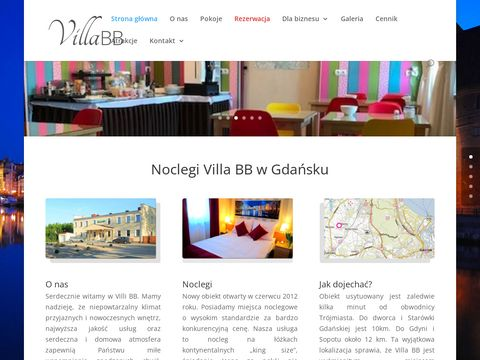 Noclegi blisko lotniska - Villa BB