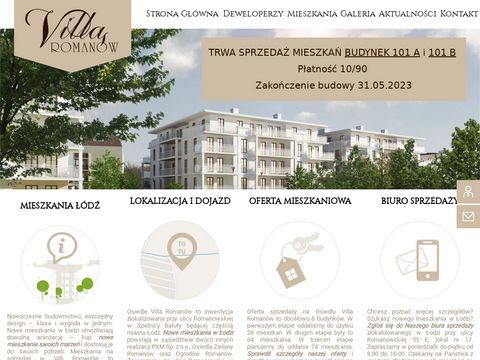 Nowe mieszkania w 艁odzi - wyj膮tkowa Villa Roman贸w