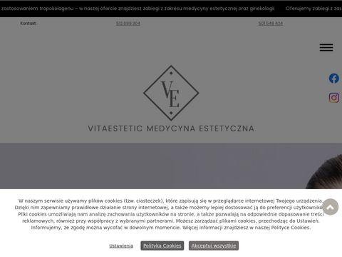 VITAESTETIC medycyna estetyczna elbl膮g
