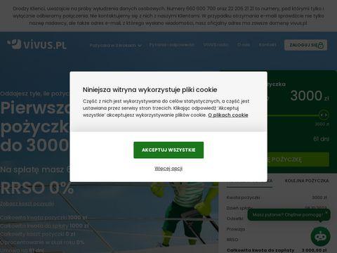 Vivus.pl - pożyczka