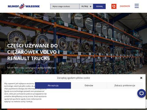 Volvo-uzywane.pl części do ciężarówek