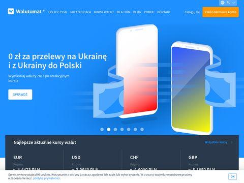 Wymiana walut online - Walutomat.pl