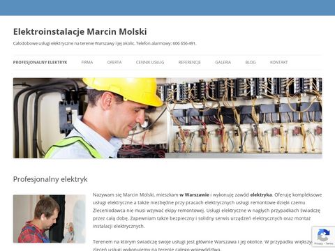 elektryk Warszawa - Marcin Molski